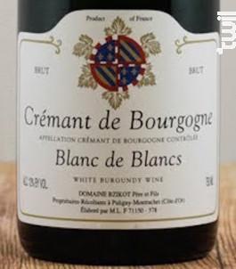 CREMANT DE BOURGOGNE Blanc de Blancs - Domaine Bzikot - Non millésimé - Effervescent