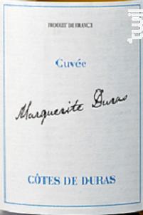 Cuvée Marguerite Duras - Blanc Sec - Berticot - 2017 - Blanc