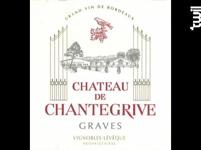 Château Chantegrive - Château de Chantegrive - 2014 - Rouge
