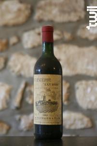 La Croix - Cuvelier & Fils - 1963 - Rouge