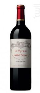 Le Marquis de Calon Ségur - Château Calon Ségur - 2018 - Rouge
