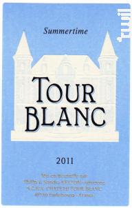 Summertime - Château Tour Blanc - 2010 - Blanc