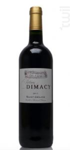 Château Dimacy - Vignobles Pestoury - 2016 - Rouge