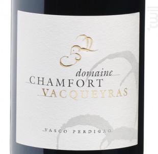 Vacqueyras - Domaine Chamfort - 2016 - Rouge