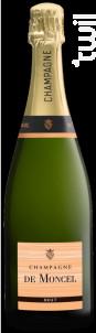 Champagne De Moncel Brut - Champagne De Moncel - Non millésimé - Effervescent