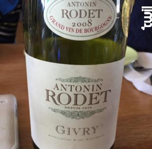 Givry - Antonin Rodet - 2020 - Rouge