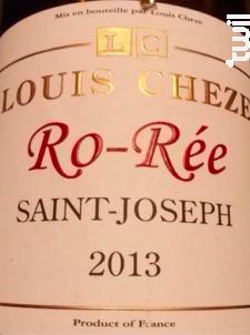 Ro-Rée - Domaine Louis Cheze - 2016 - Rouge