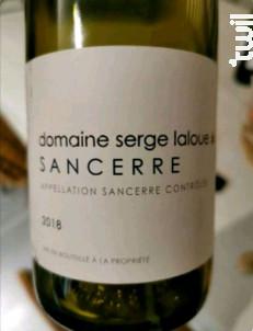 Sancerre - Domaine Serge Laloue - 2019 - Blanc