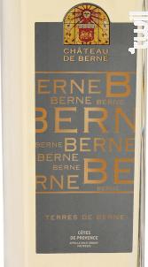 Terres de Berne - Château de Berne - 2017 - Blanc