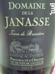 Terre de Bussière - Domaine de la Janasse - 2015 - Rouge