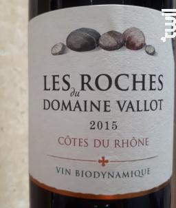 Les Roches du Domaine Vallot - Domaine VALLOT - Le Coriançon - 2015 - Rouge