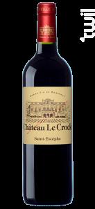 Château Le Crock - Château Le Crock - 2016 - Rouge