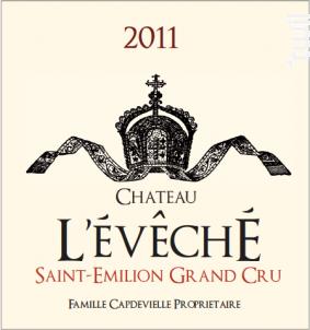 Château l'Évêché - Château l'Évêché - 2012 - Rouge