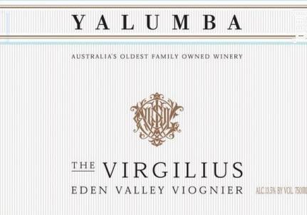 The Virgilius Viognier - YALUMBA - 2009 - Blanc