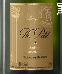 Blanc de Blancs Grand Cru - Brut - Champagne Th. Petit - Non millésimé - Effervescent