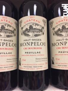 Château Haut-Bages Monpelou - Château Haut-Bages Monpelou - 2014 - Rouge