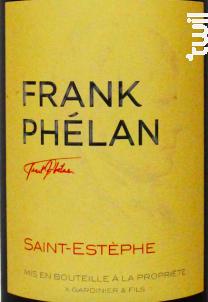 Frank Phélan - Château Phélan Ségur - 2014 - Rouge