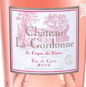 Cirque des Grives - Chateau La Gordonne - 2014 - Rosé