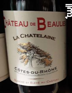 La Chatelaine - Château Beaulieu - 2017 - Rouge
