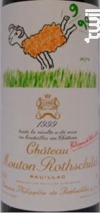 Château Mouton rothschild - Château Mouton Rothschild - 1999 - Rouge