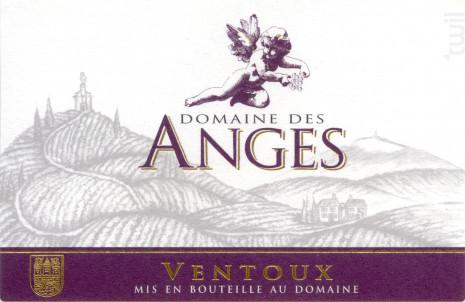 Domaine des Anges - Domaine des Anges - Non millésimé - Rouge