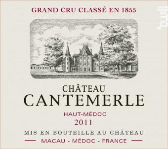 Château Cantemerle - Château Cantemerle - 2011 - Rouge