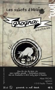 Grognac - Eau de vie - Les Sabots d'Hélène - Non millésimé - Blanc