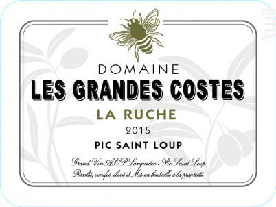 La Ruche - LES GRANDES COSTES - 2015 - Rouge