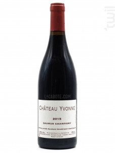 Château Yvonne Saumur Champigny - Château Yvonne - 2015 - Rouge