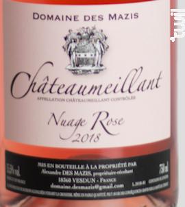 Nuage rose - Domaine des Mazis - 2018 - Rosé