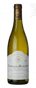 Chassagne-Montrachet 1er cru Morgeot - Domaine Bachelet-Ramonet - 2016 - Blanc