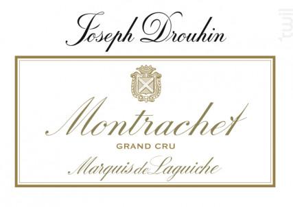 Montrachet Grand Cru Marquis de Laguiche