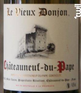 Domaine Le Vieux Donjon - Domaine le vieux Donjon - 2012 - Blanc