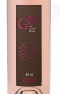 CÔTES DE PROVENCE GM - Maison Gabriel Meffre - 2017 - Rosé