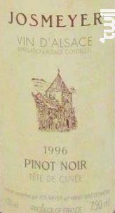 Pinot Noir - JOSMEYER - 1996 - Rouge