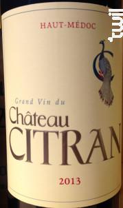 Château Citran - Château Citran - 2013 - Rouge