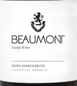 Hope marguerite - chenin blanc - BEAUMONT - 2017 - Blanc