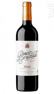 Rioja Reserva - Tempranillo - GOMEZ CRUZADO - 2012 - Rouge