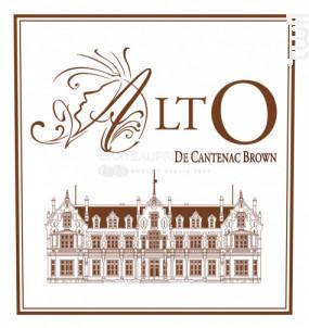 Alto de Cantenac Brown - Château Cantenac Brown - 2015 - Blanc