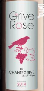 LA GRIVE ROSE DE CHANTEGRIVE - Château de Chantegrive - 2016 - Rosé