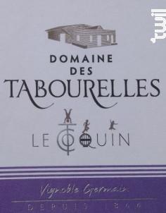 Le coquin - Domaine des Tabourelles - 2015 - Rouge