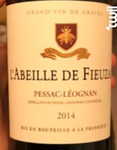 L'Abeille de Fieuzal - Château de Fieuzal - 2014 - Rouge