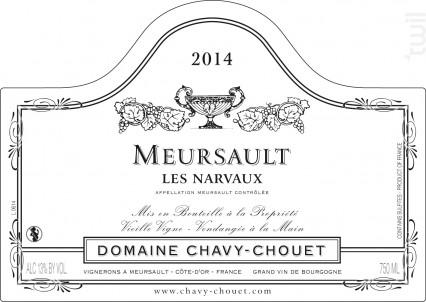 Meursault Les Narvaux - Domaine Chavy-Chouet - 2017 - Blanc