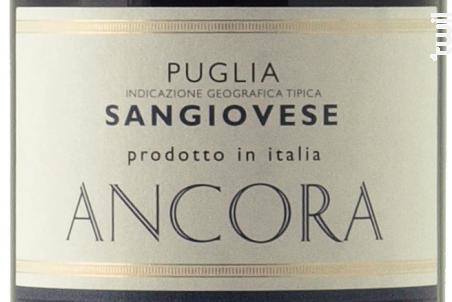 Sangiovese di Puglia - Ancora - 2016 - Rouge