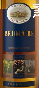 Brumaire - 50 CL - Château Bouscassé - 2011 - Blanc