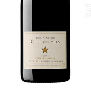 Vieilles vignes - Hervé Bizeul - Le Clos des Fées - 2018 - Rouge
