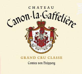 Château Canon La Gaffelière - Château Canon la Gaffelière - 2004 - Rouge