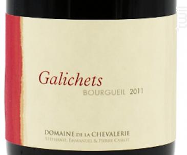 Galichets Bourgueil - Domaine de la Chevalerie - 2011 - Rouge