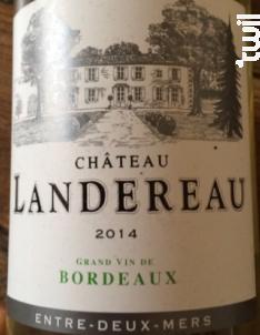 Château Landereau - Château Landereau - 2014 - Blanc