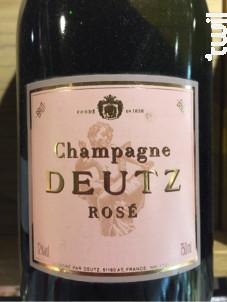 Rosé - Champagne Deutz - Non millésimé - Effervescent